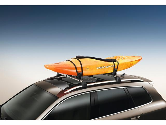 Diagram Base Carrier Bars and Kayak Holder Attachment (NPN071037) for your Volkswagen Cross Sport
